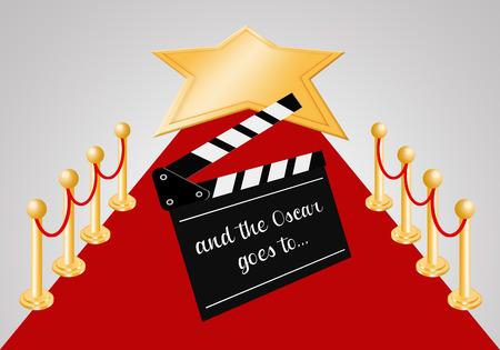Red carpet for Oscars award