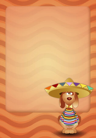 musca: Dog with sombrero
