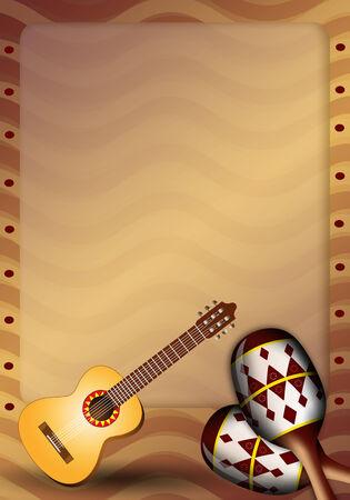 musca: Guitar and maracas