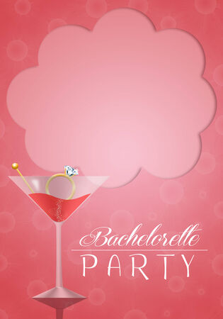 unmarried: Bachelorette party Stock Photo