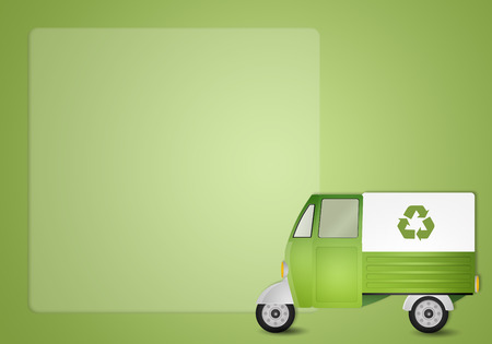 echo: Green van for recycling