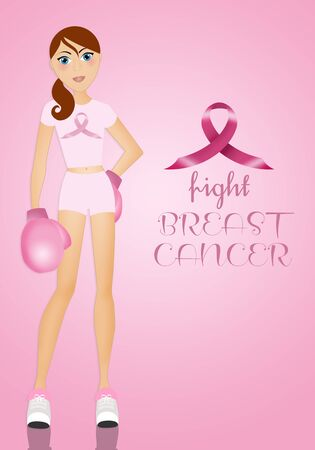 fighting cancer: Fighting breast cancer