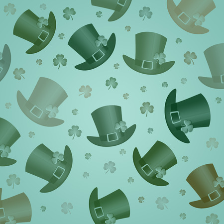 patrick: Pattern for St. Patrick Stock Photo