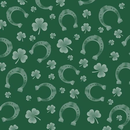 irish culture: Pattern for St. Patrick Stock Photo
