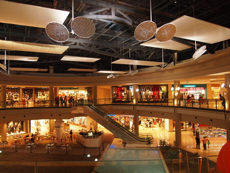 shopping center: Shopping center