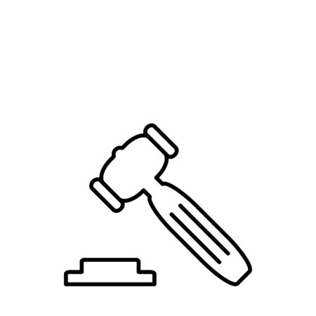 Law Legal Firm Creative Vector icon Design Template And Illustration