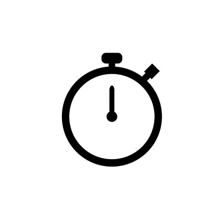 Clock Alarm Hour Vector Icon Design Template And Illustration