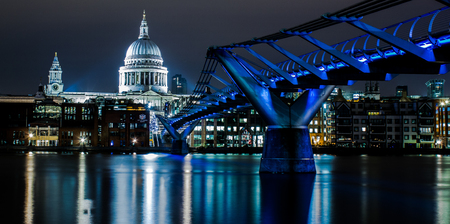 millennium: St Pauls and Millennium Bridge