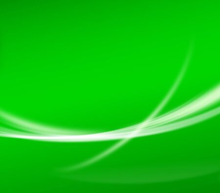 abstract green background wallpaper with curve glitter and gradient Stock Photo