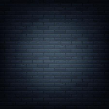光源背景分離パターンでレンガの壁。ベクトルの図。