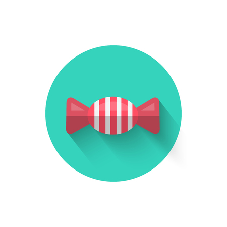 Candy Icon Isolated Vector Illustration.