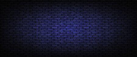 Brown brick wall background. Vector illustration Illusztráció