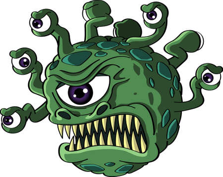 monster cartoon Vector