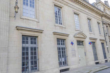 the Office Of Tourisme in Dijon, Burgundy, France, color, horizontal