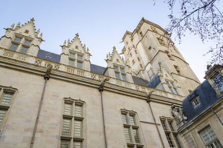 the Castle Of Duc Of Burgundy in Dijon, France, Cote D