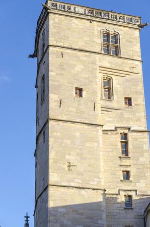 an old building of Dijon, Burgundy, France