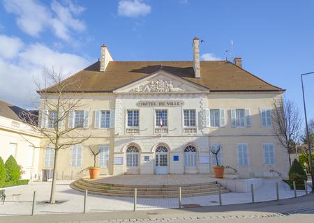 the city hall of Beaune,burgundy, France, saone-et-loire photo