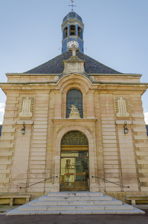 an Old hospital in Beaune, Burgundy, France photo