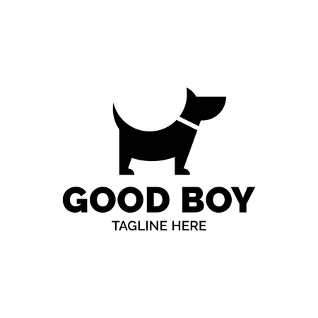 Good Boy Dog Vector Design Template Graphic Puppy Friend Logotype