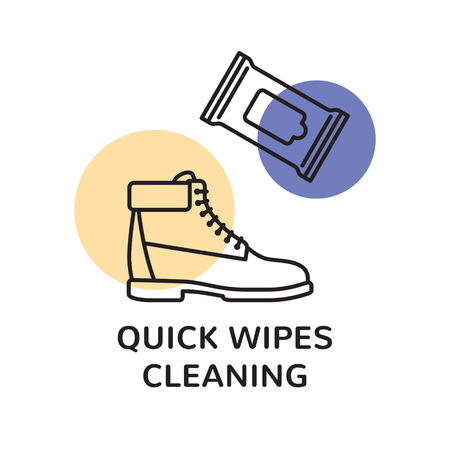 Sneaker Cleaning design template.