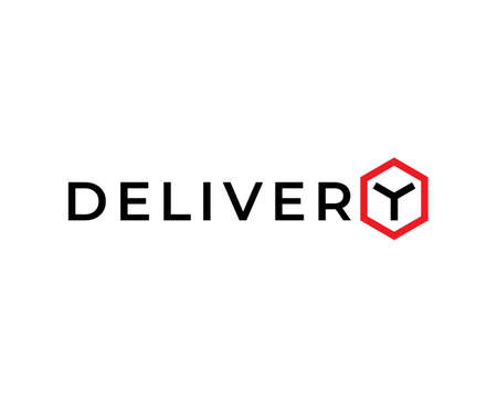 Vector delivery logo template. 向量圖像