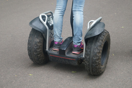 segway: Segway eng. Segway electric scooter with two wheels,I like modern vehicles1