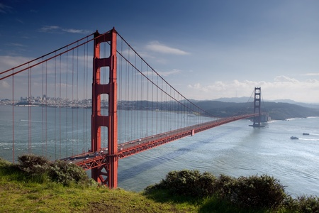 Golden Gate Bridge in San Francisco.  photo
