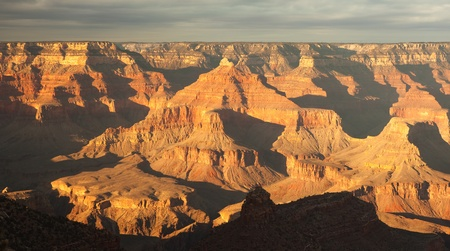 Sunset in Grand Canyon National Park.