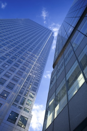Skyscraper on Canary Whorf.