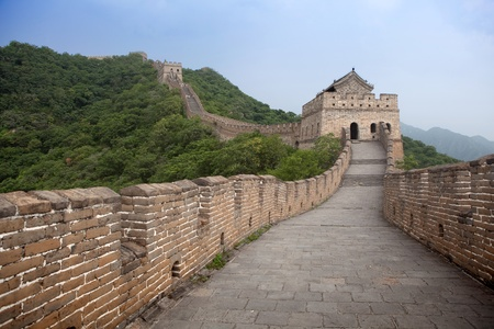 The Great Wall of China. photo
