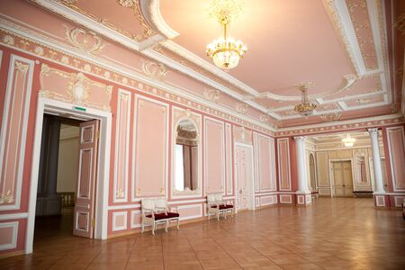 Entrance hall in classic style.