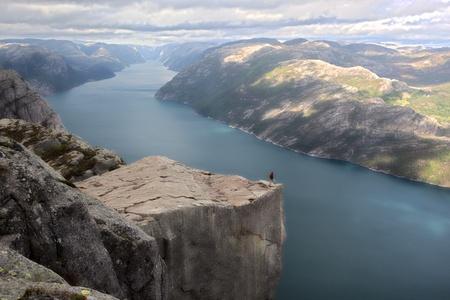 Preikestolen, Norway  Editorial