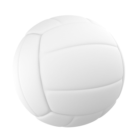 Volleyball isolated on a white Stock Photo - 11902418