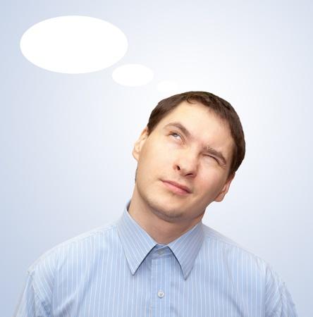 Thinker. Stock Photo - 11902577