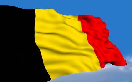Belgian Flag photo