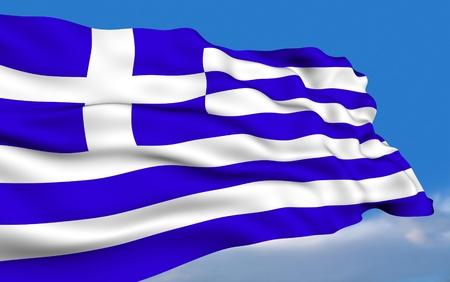 greek flag: Greek Flag