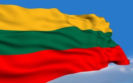 lithuanian: Lithuanian Flag