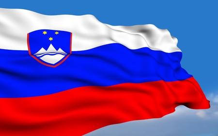 slovenian: Slovenian Flag