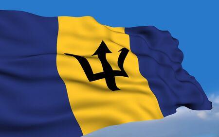 barbadian: Barbadian flag