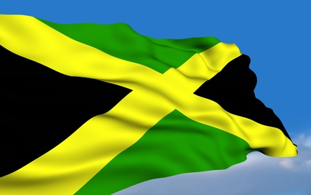 jamaican flag: Jamaican flag