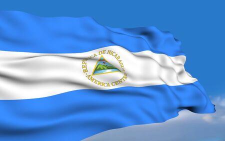 nicaraguan: Nicaraguan flag