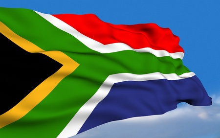 South African Flag photo