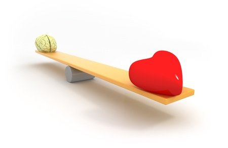 balance between heart and mind