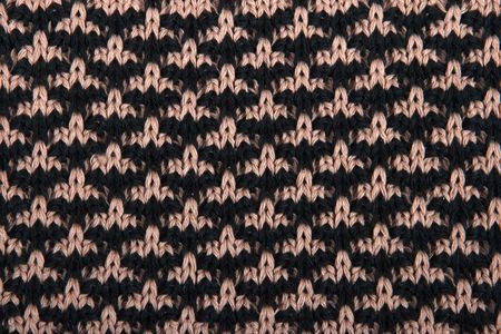 bind: The pattern of a product from a wool in the form of a background