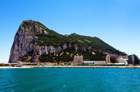 most: Gibraltar - the most south point of Europe, Spain Stock Photo