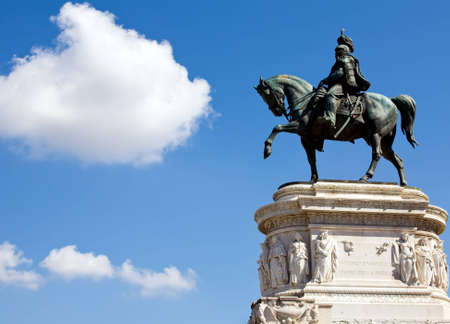 emmanuel: The Victor Emmanuel Monument, majestic memorial in Rome, Italy