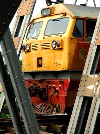 Train running on rails Editorial