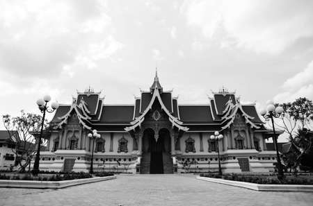 Temple is located in Laos