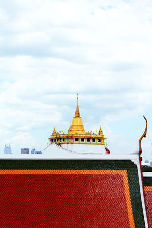 Golden Mount and Wat Saket