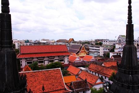 Thai skyline Stock Photo